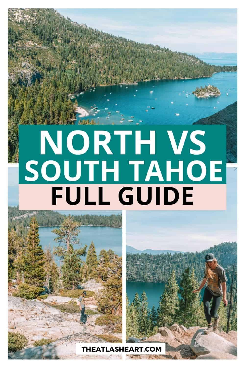 north or south lake tahoe