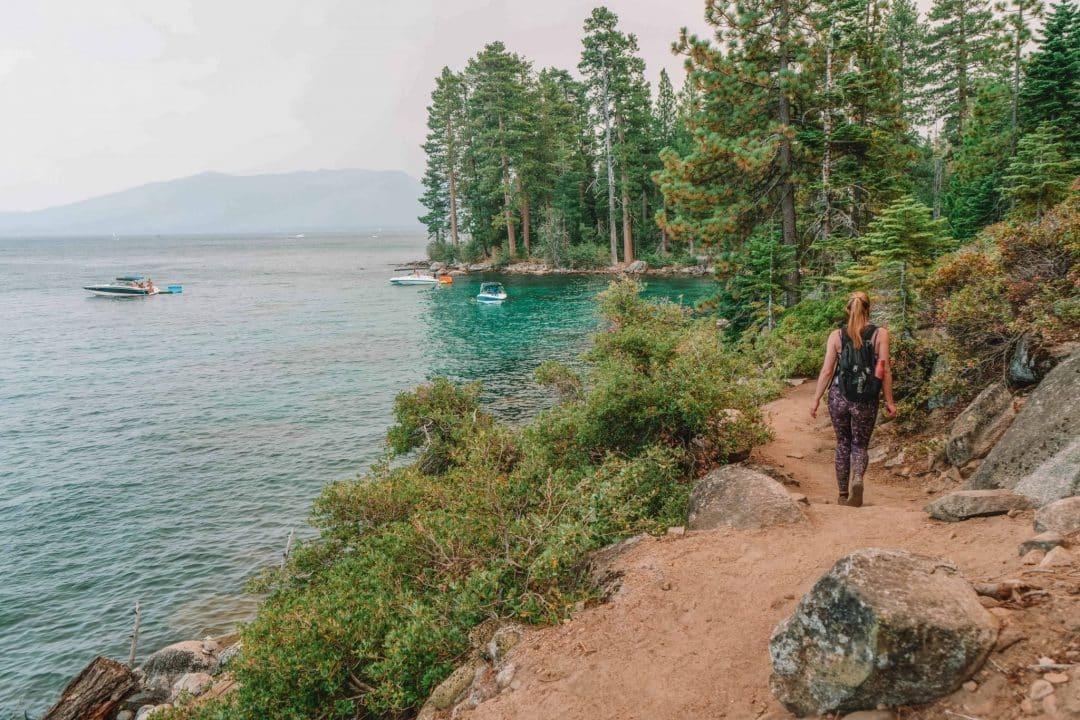south lake tahoe hiking, best part of lake tahoe to visit in summer
