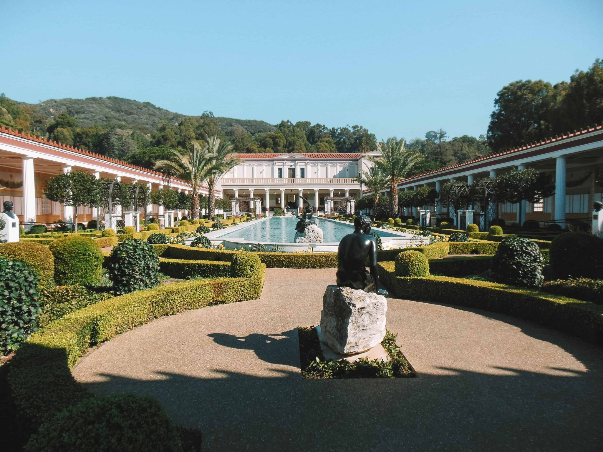 visit the stunning getty villa