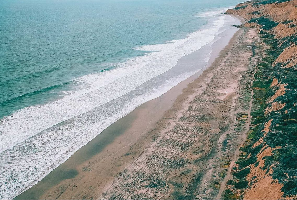 easy hikes in San Diego - Torrey Pines trails