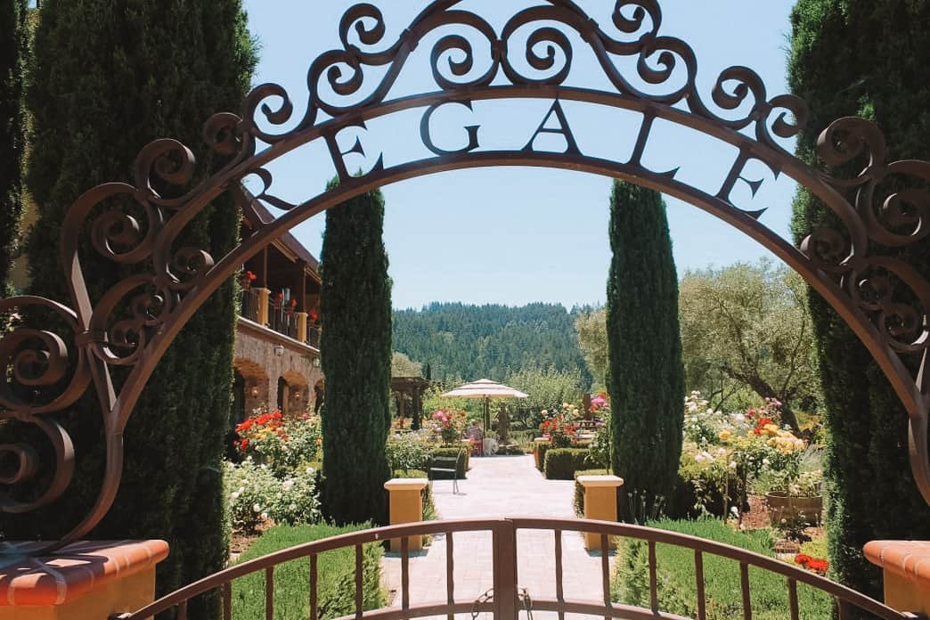 regale winery and vineyards in the Santa cruz mountains