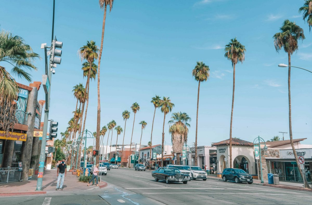 How Far is Joshua Tree from Palm Springs?, leaving downtown palm springs for joshua tree
