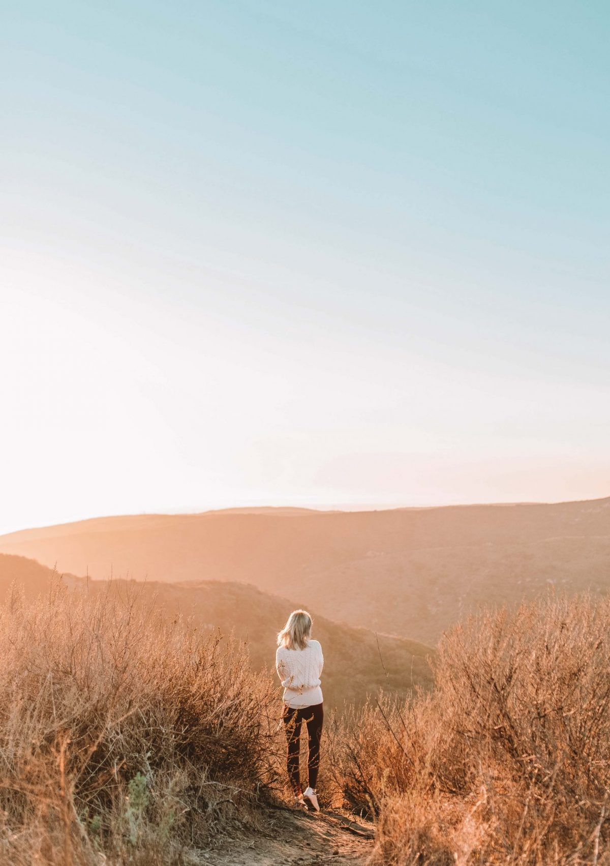 Hiking in Orange County, California