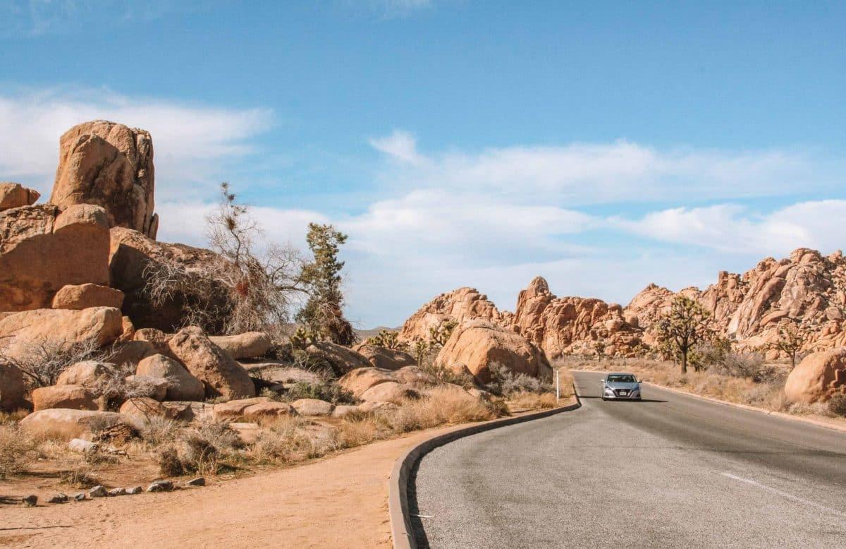 Palm Springs to Joshua Tree national park
