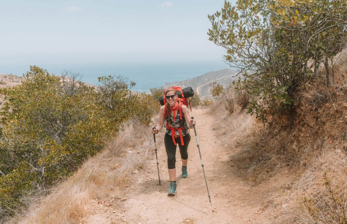 what to pack for hiking on catalina island