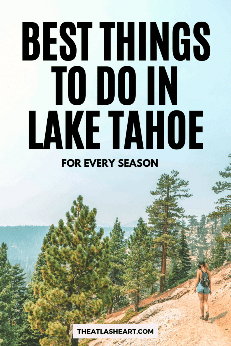Best Things to Do in Lake Tahoe Pin 1