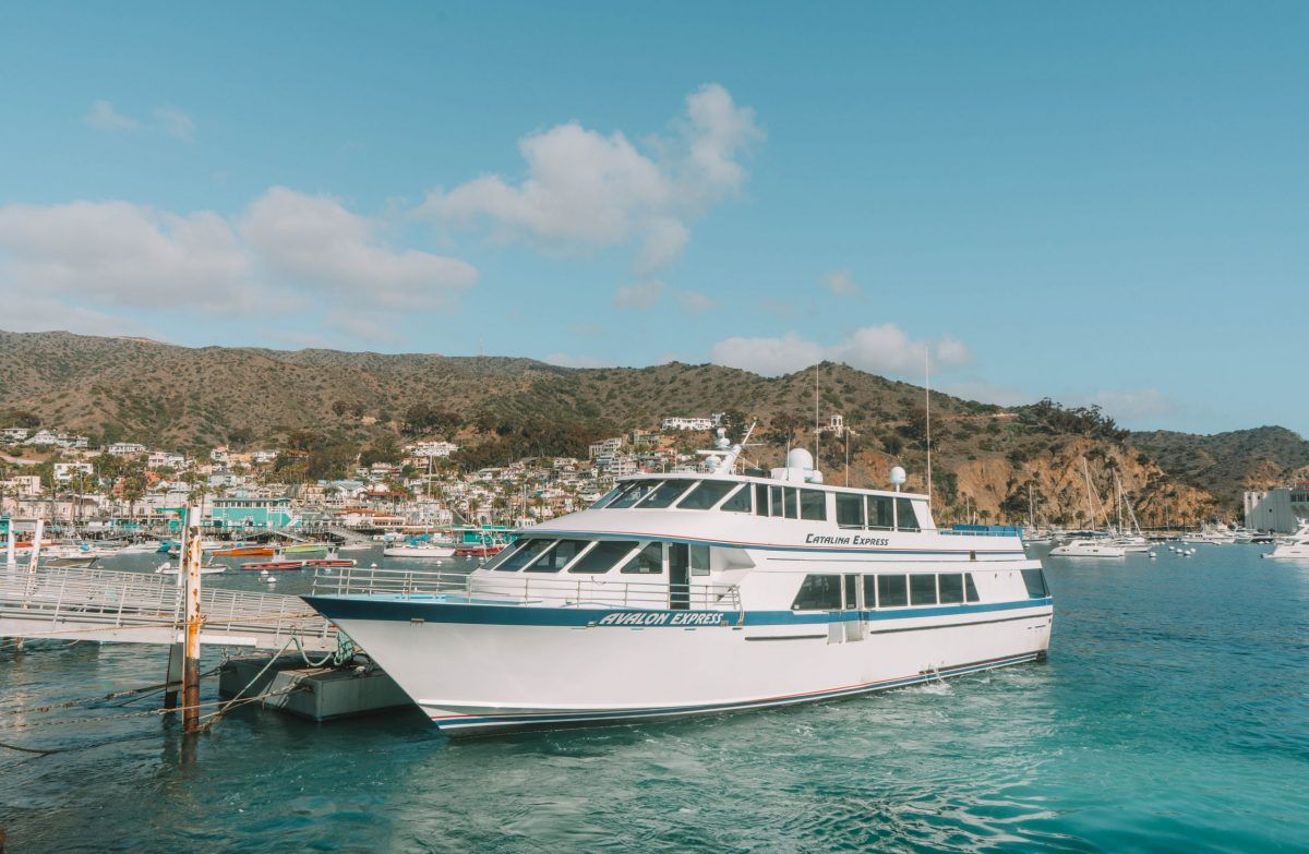 catalina express ferry from San Pedro to Two Harbors
