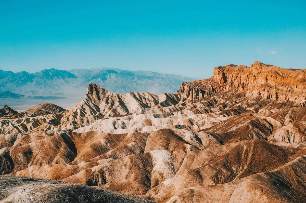 Sequoia & Kings Canyon National Parks to Death Valley National Park