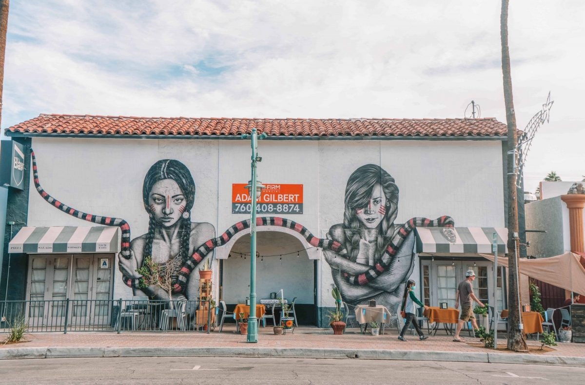 Discover the Street Art in Palm Springs