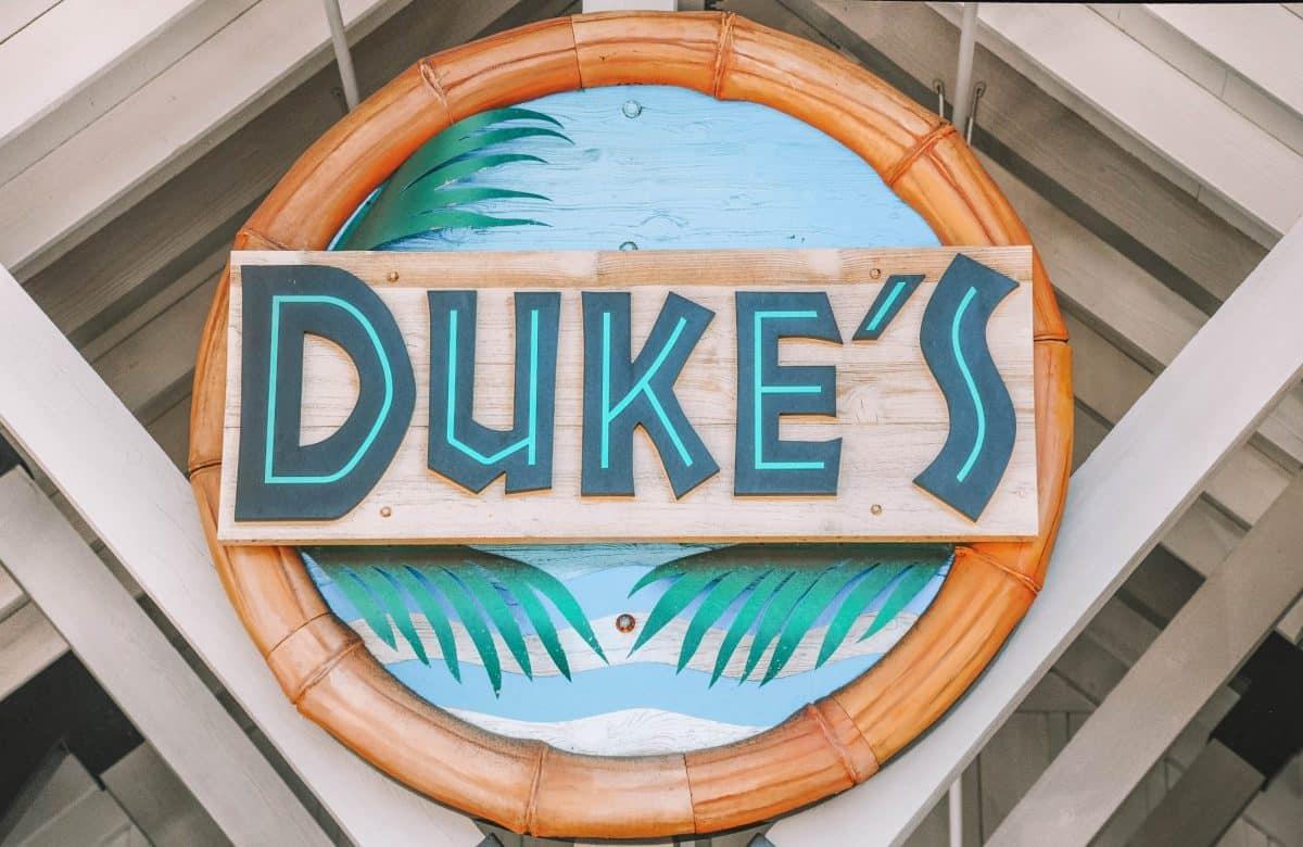 Duke's Malibu on the california coast