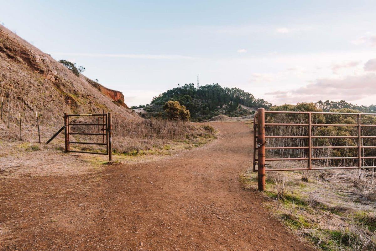 Round Top Loop Trail Gate