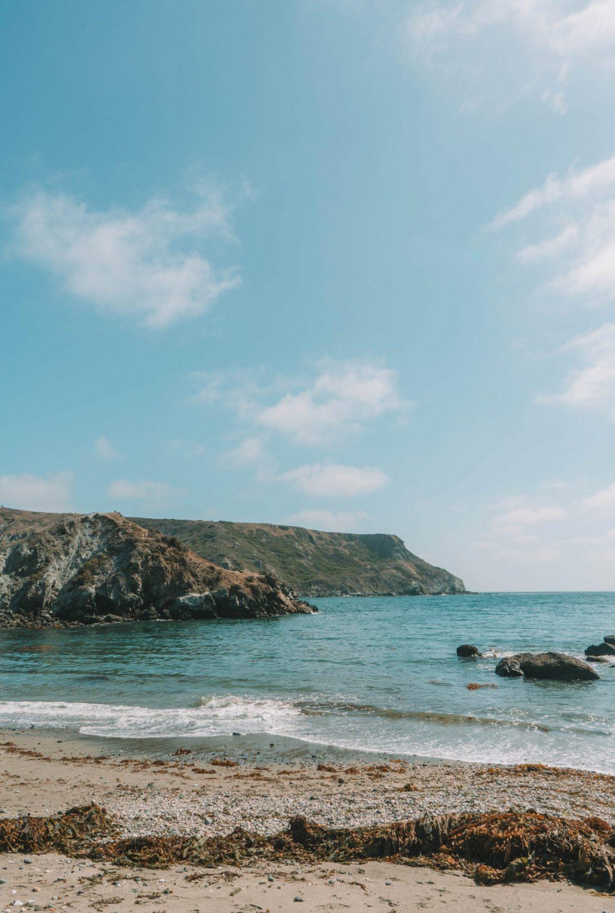 Little Harbor Beach on Catalina Island