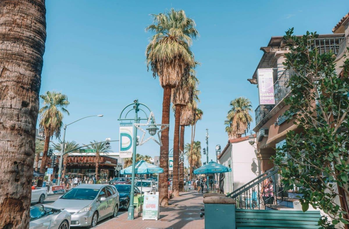 Walk Around Downtown Palm Springs