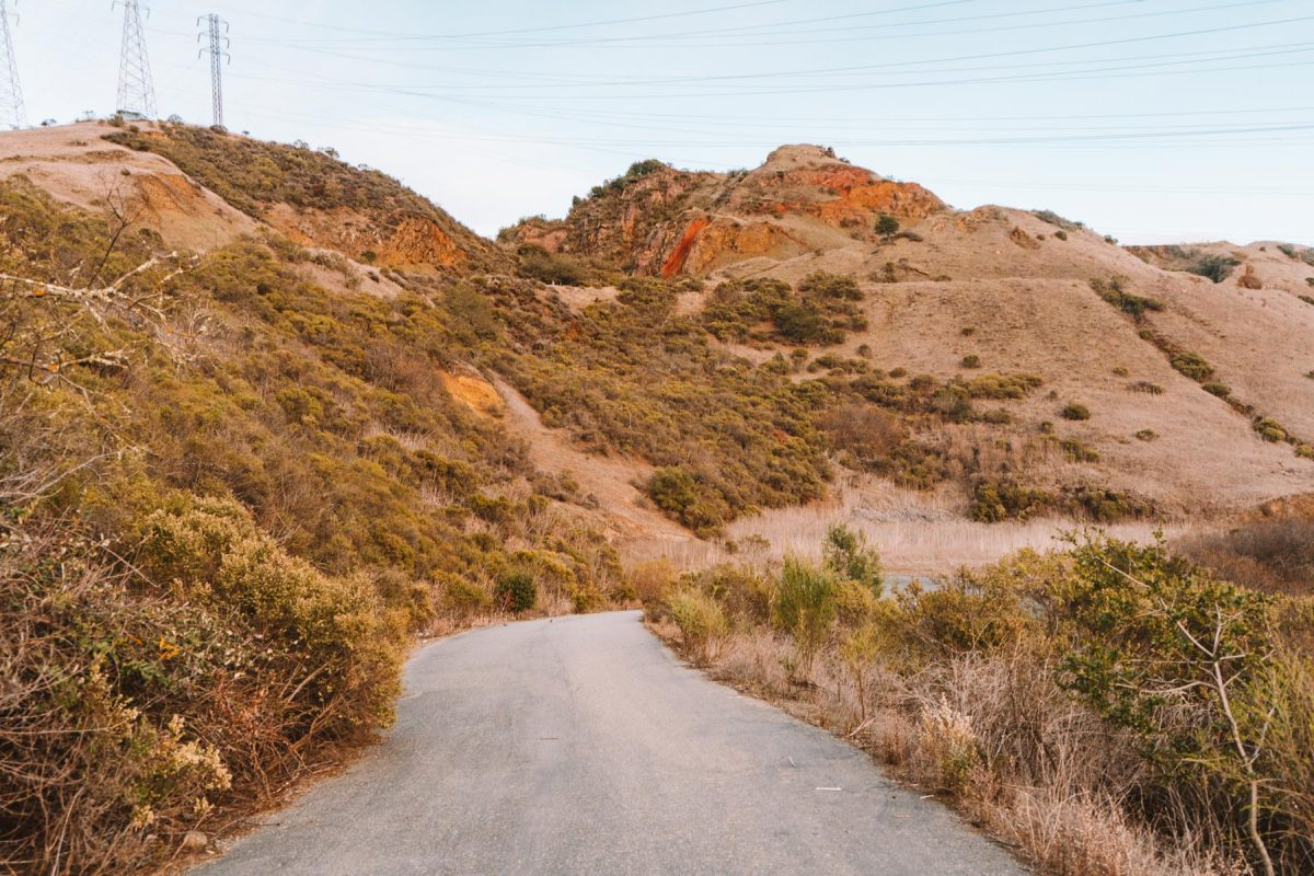 paved quarry road