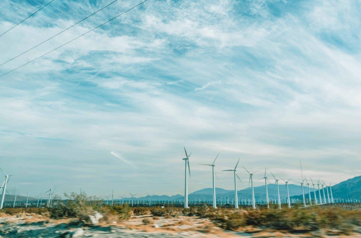 tour a windmill farm in palm springs