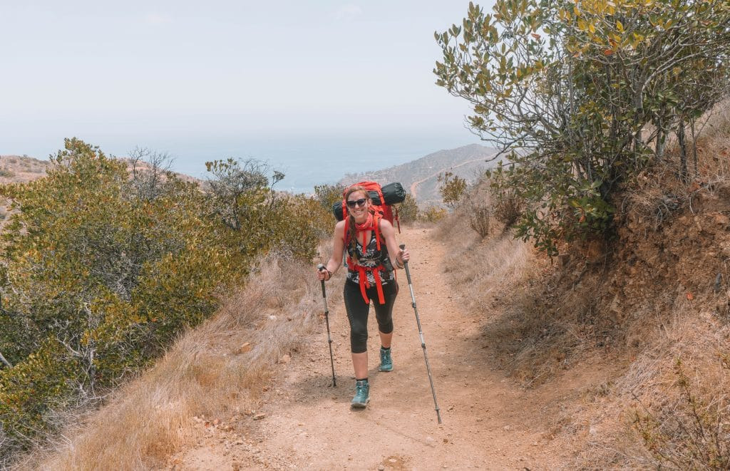 Best Time to Backpack the Trans Catalina Trail