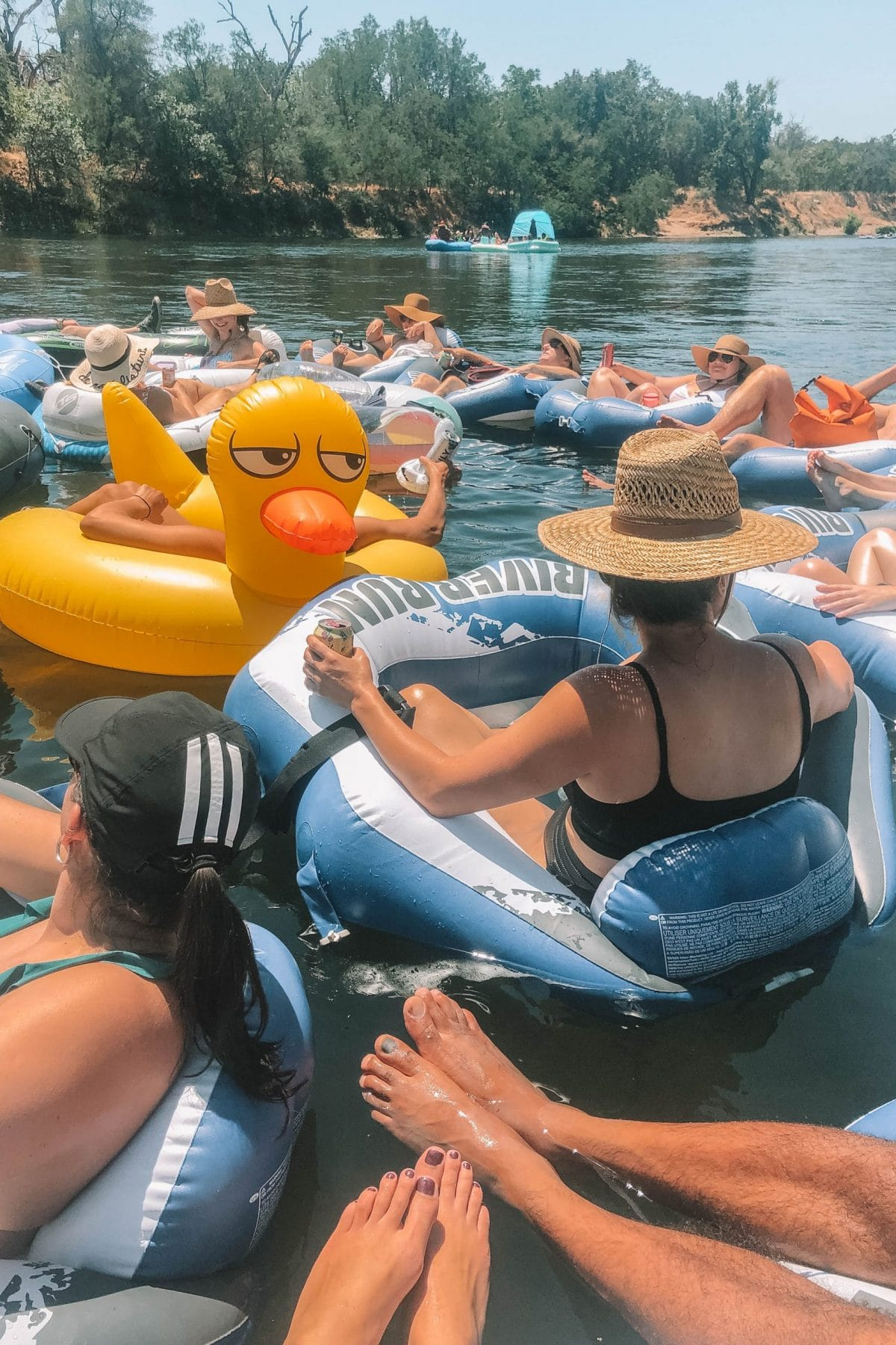 how to go lazy tubing on the american river in sacramento