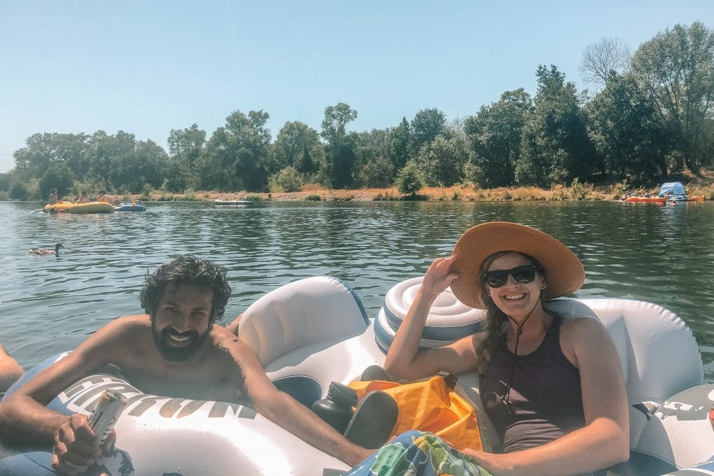 Tips for American River tubing