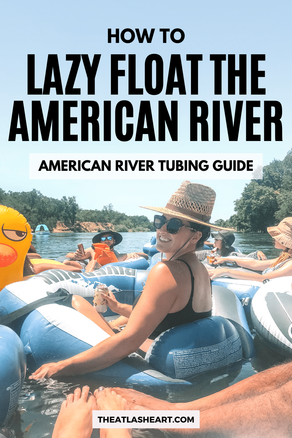 How to Lazy Float the American River (American River Tubing Guide)