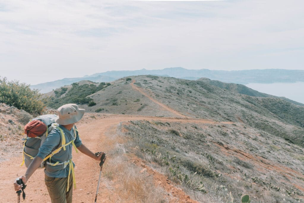 is the trans catalina trail difficult