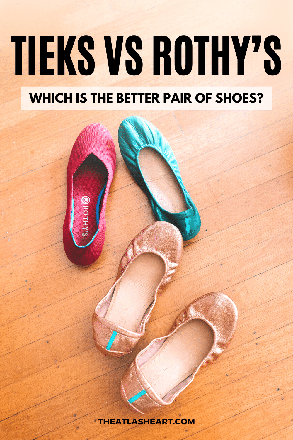 Tieks vs Rothy's: Which is the Better Pair of Shoes?