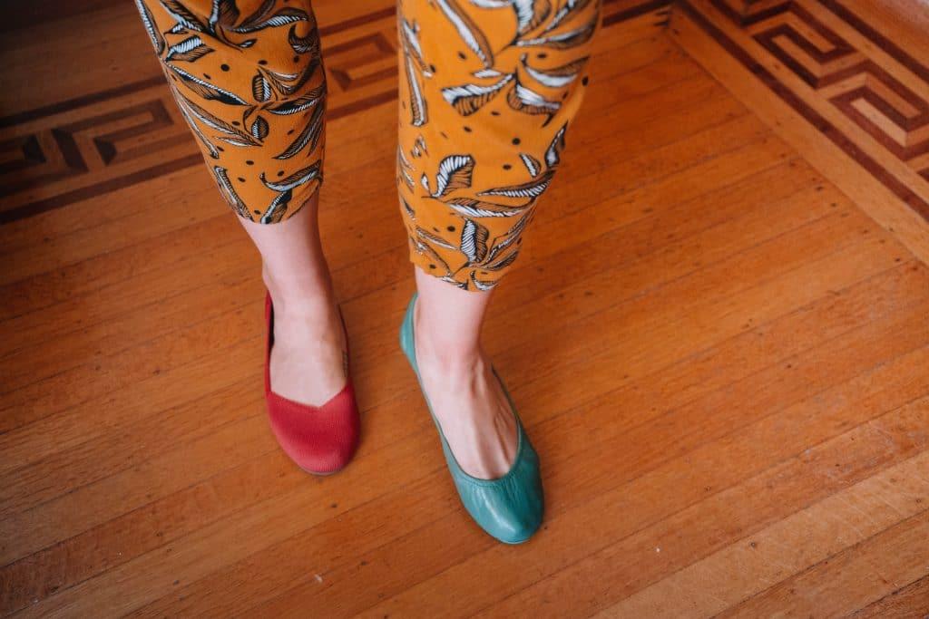 tieks vs rothys shoes