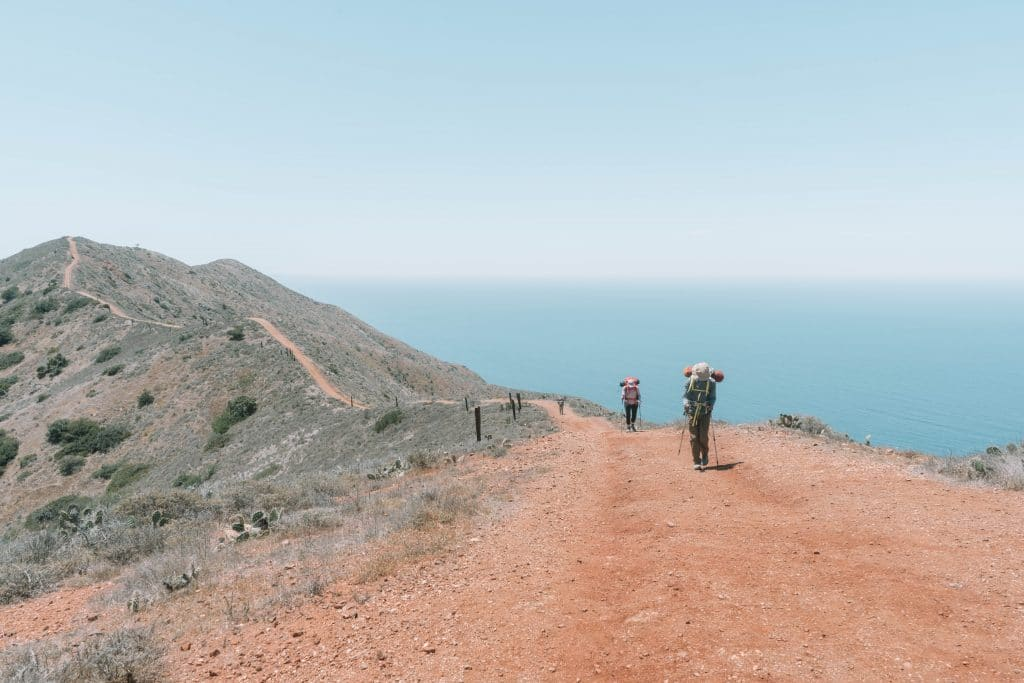 trans catalina trail itineraries