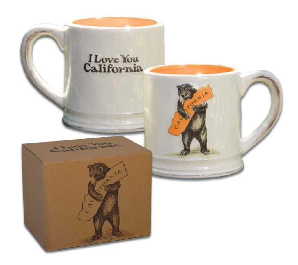California Bear Hug Mug Gift