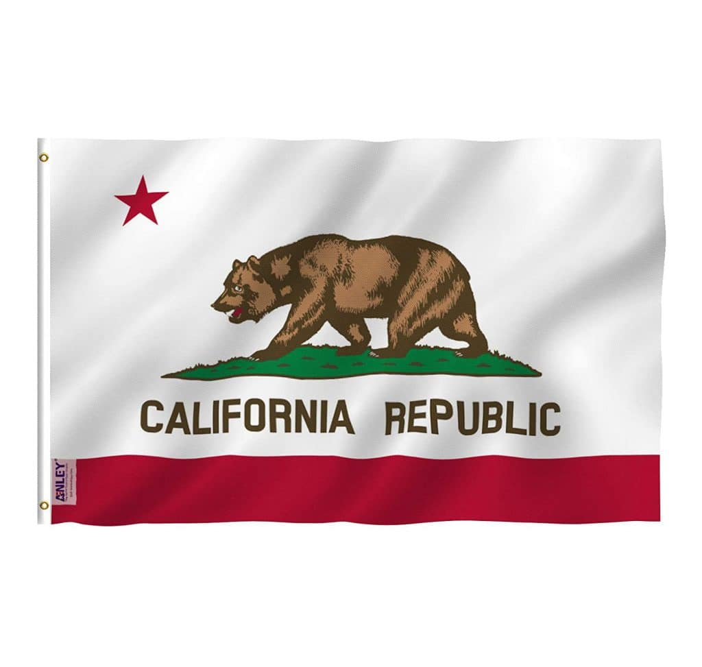California Flag Gift