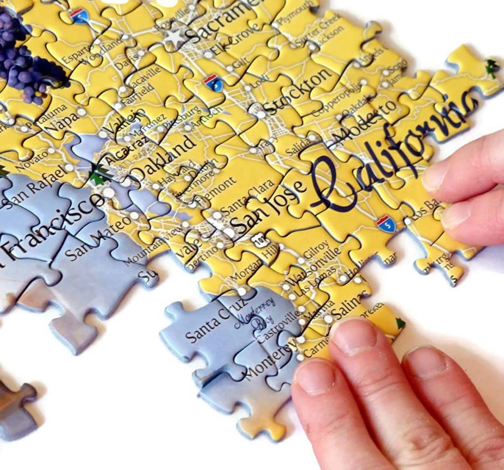 California Puzzle Gift