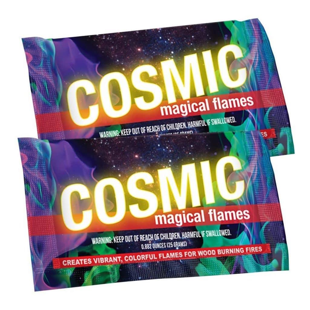 Cosmic Magic Flames