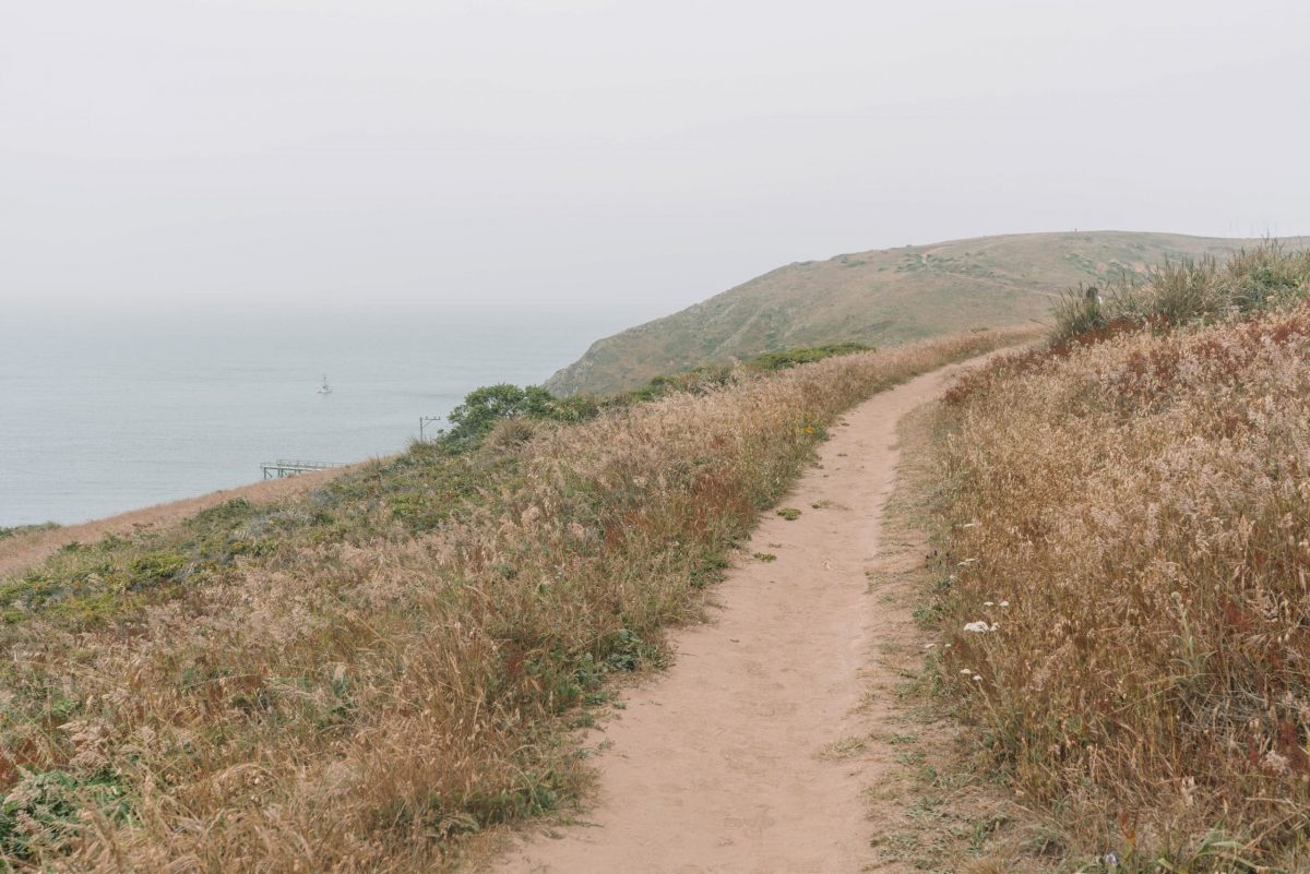 Hiking in Point Reyes - Chimney Rock trail