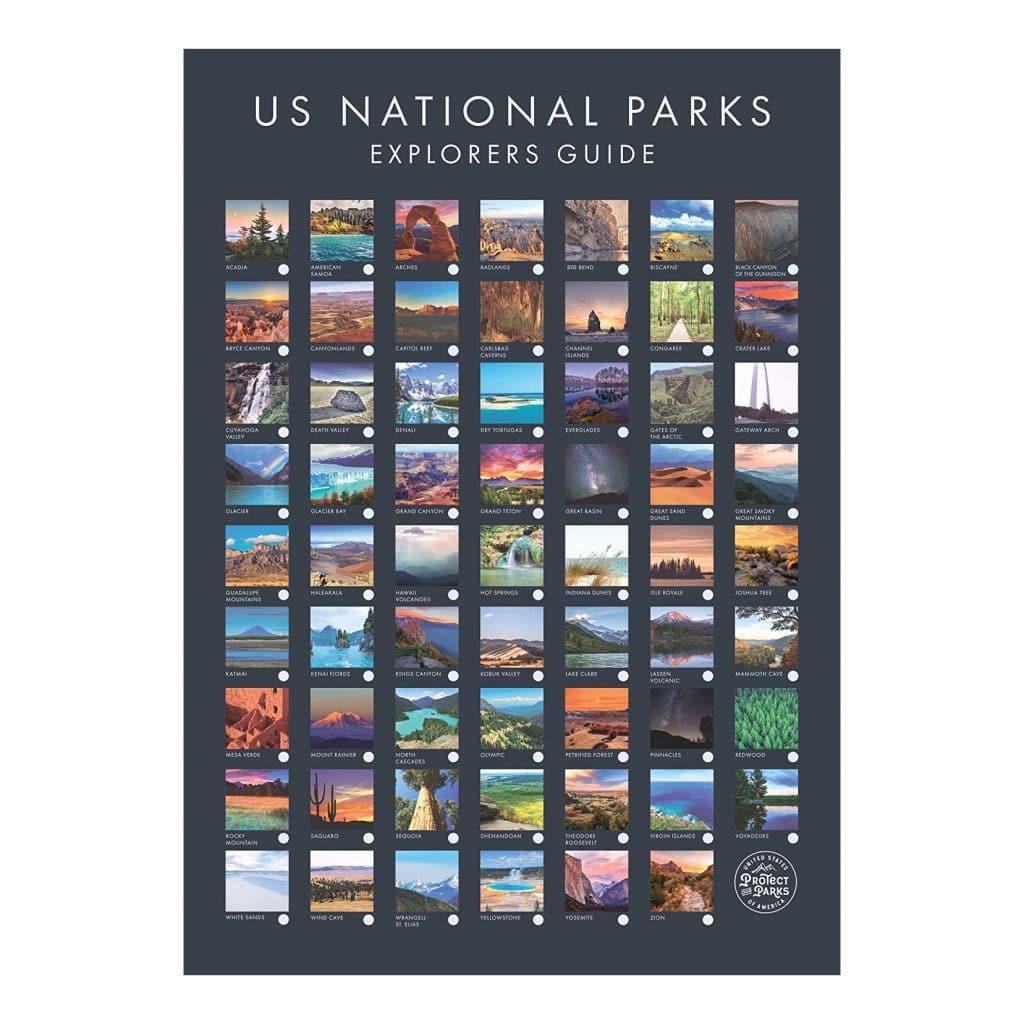 National Park Poster Gift