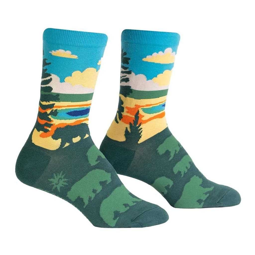 National Park Socks Gift