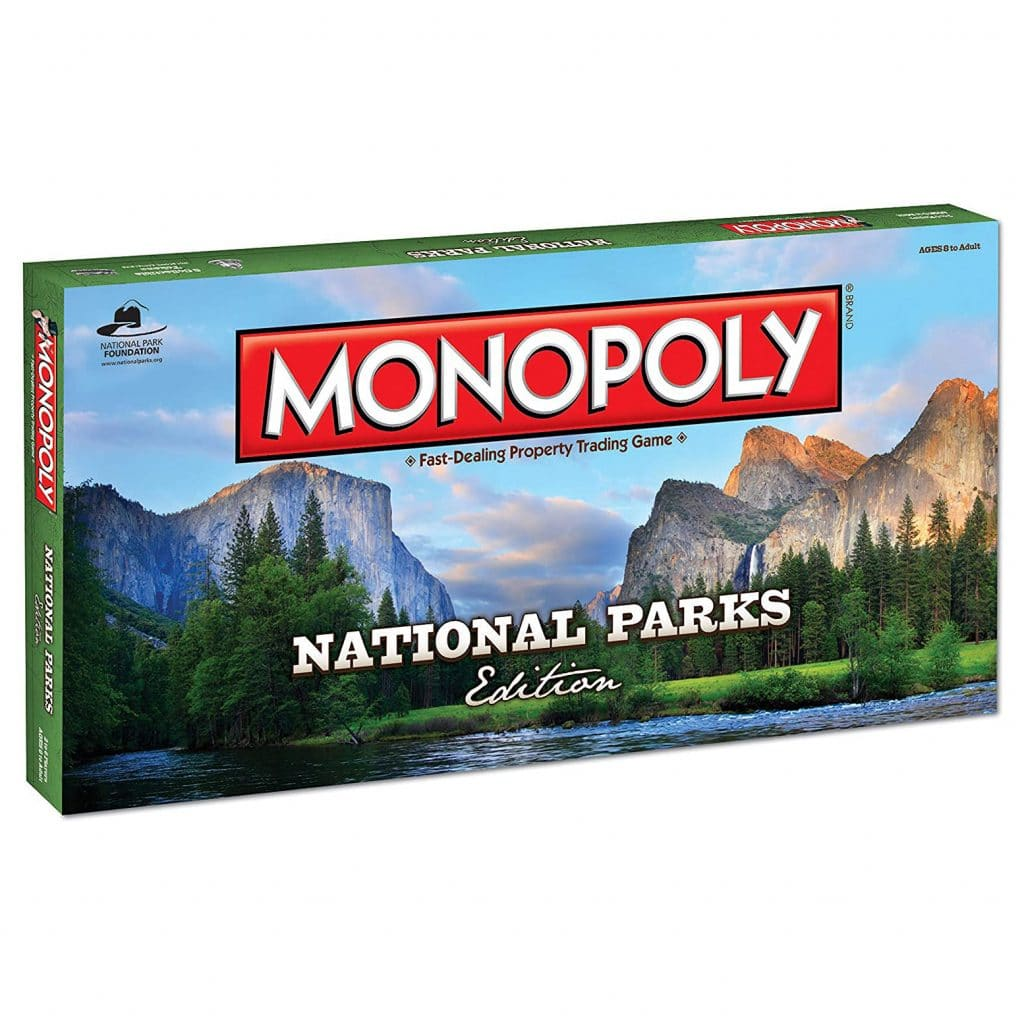 National Parks Monopoly Gift