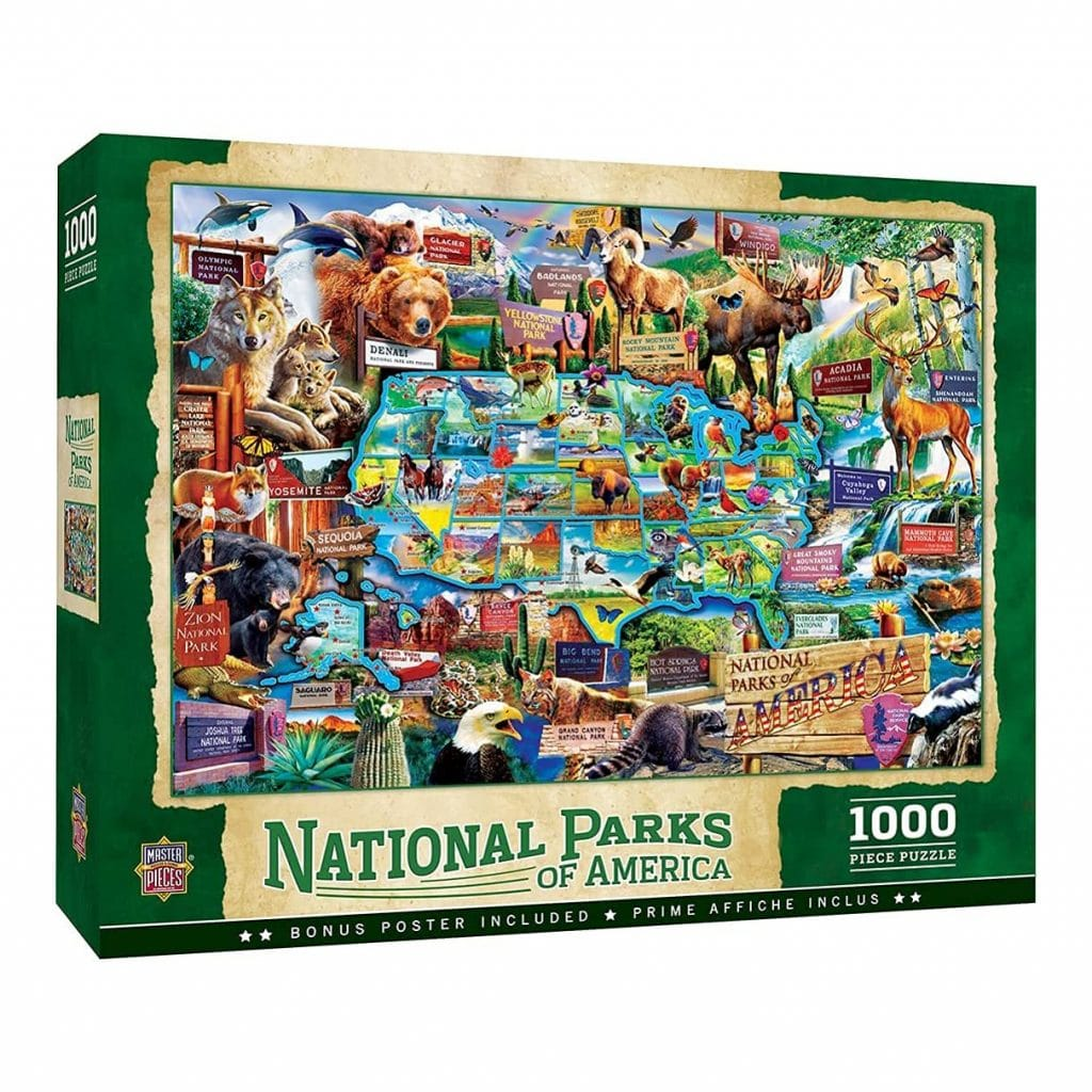 National Parks Puzzle Gift