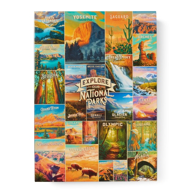 Our National Parks Puzzle Gift