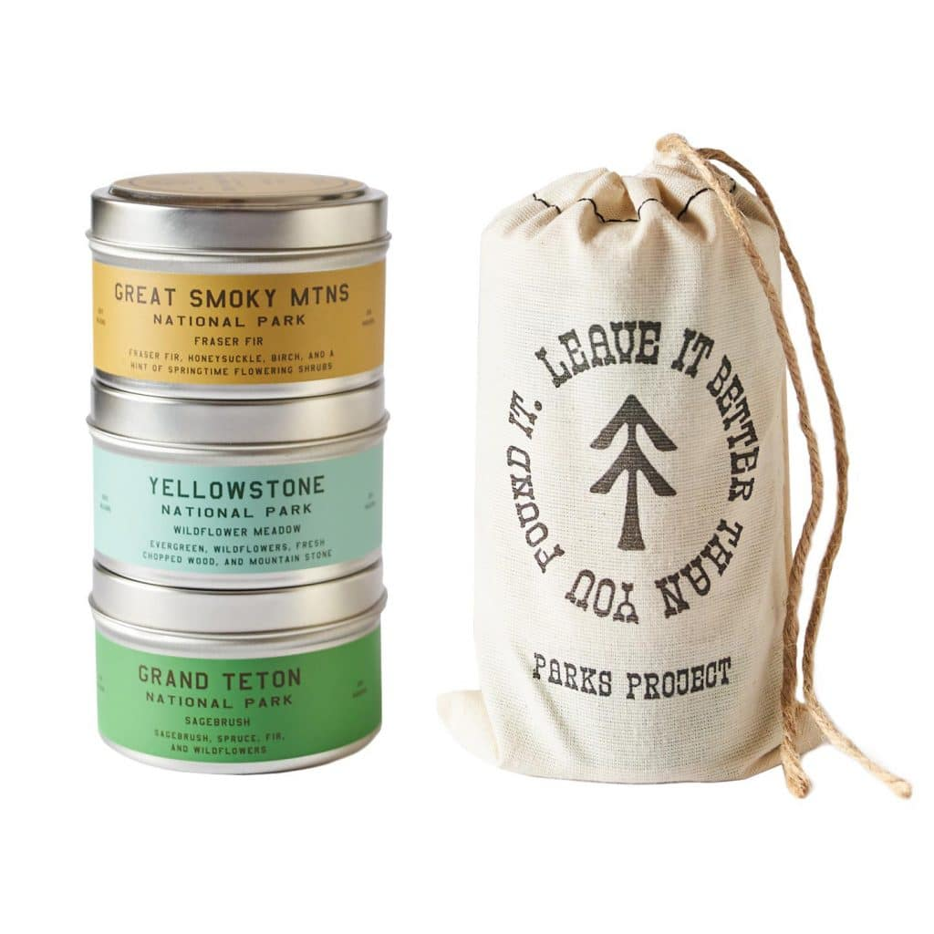 Peaks and Valleys Candle Trio Gift