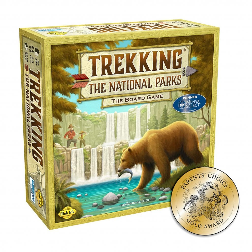 Trekking the National Parks Board Game Gift