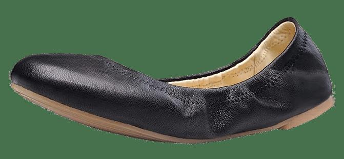 Xielong Women's Flats Lambskin Ballet Flats Shoes