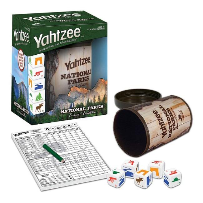 Yahtzee National Parks Gift