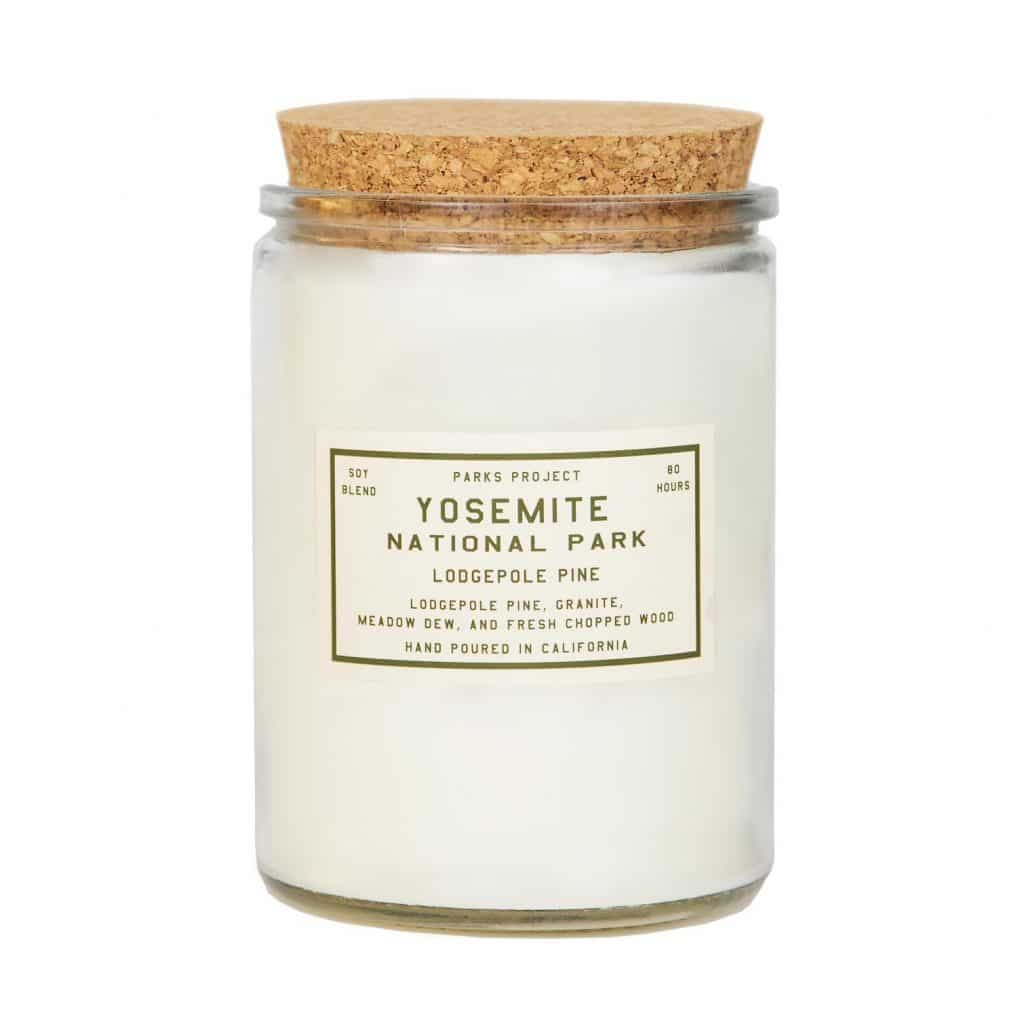 Yosemite Pine Candle Gift