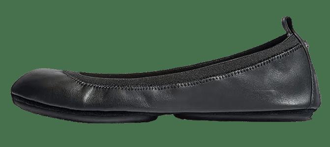 Yosi Samra Samara Womens Classic Leather Foldable Ballet Flat