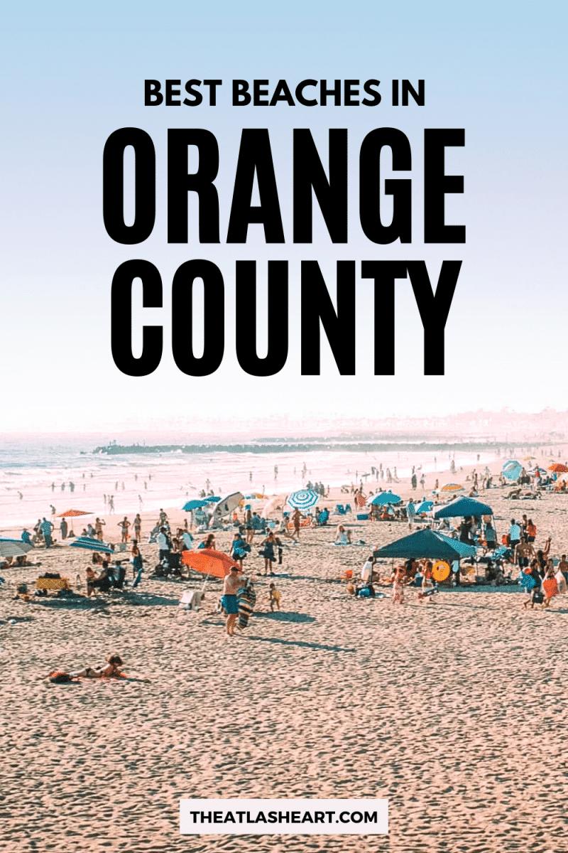 Best Beaches in Orange County, California Pin 1