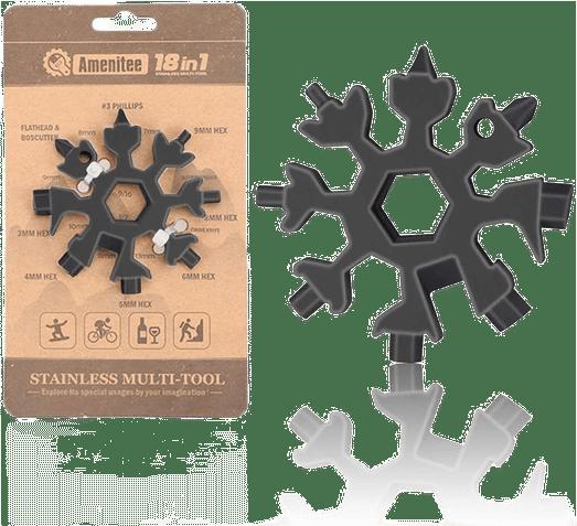 Saker 18-in-1 Snowflake Multi-Tool