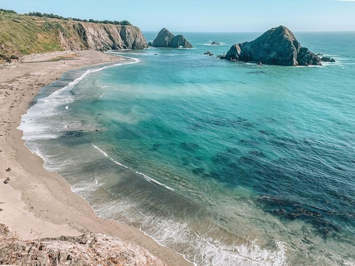 Spend the Afternoon at the beach_Mendocino beach