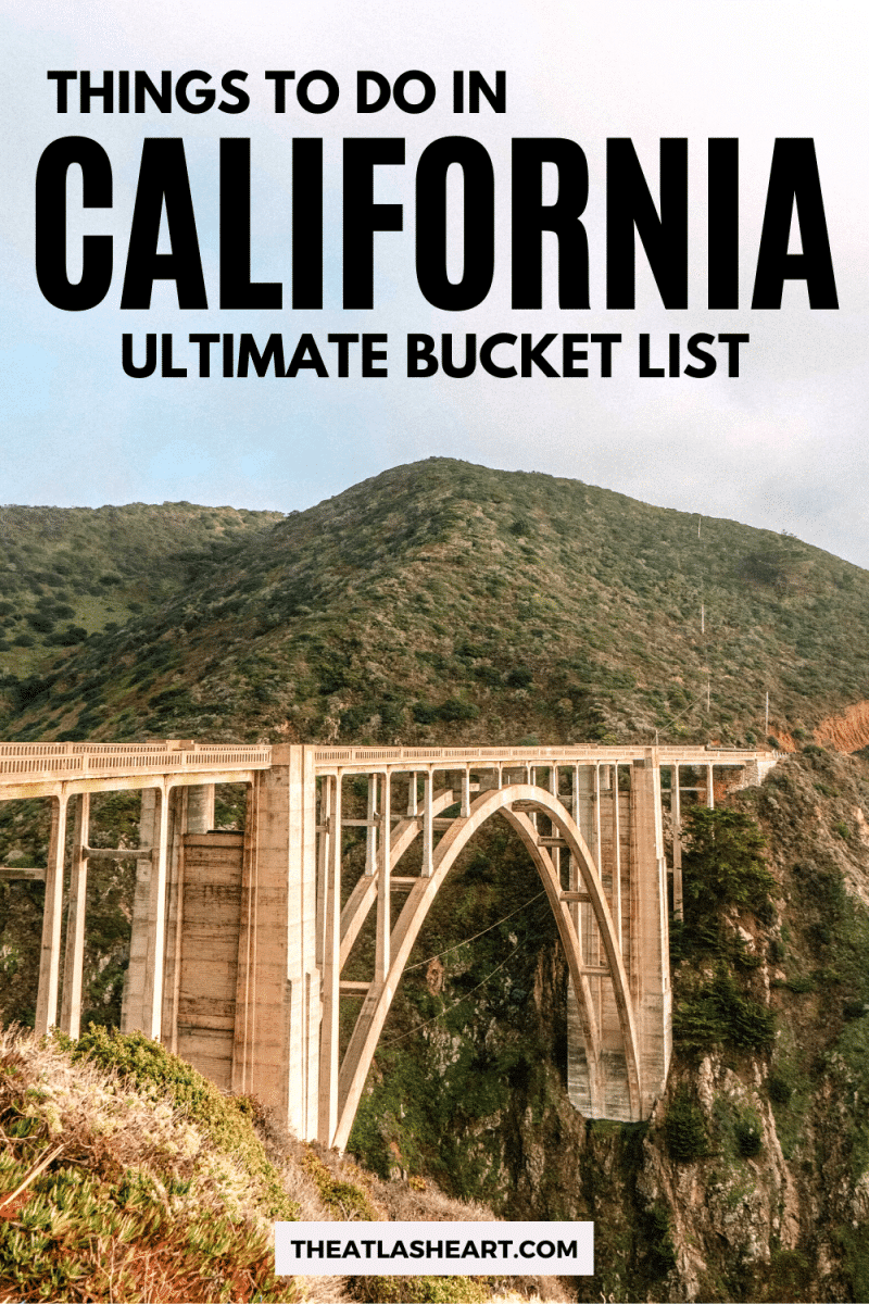 Things to do in California Pin 1