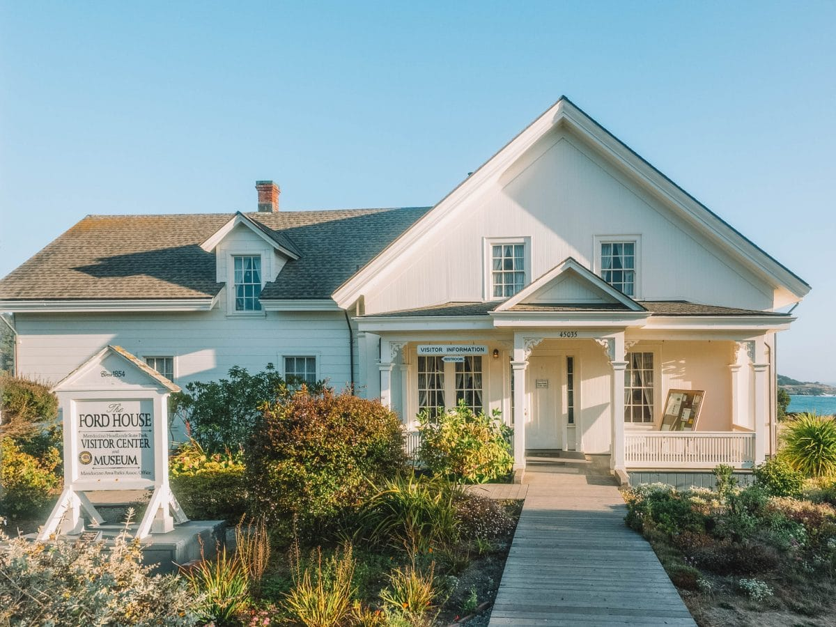 Visit the historic museums in Mendocino, Historic Ford House Museum