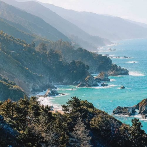 weekend trips from the bay area - big sur